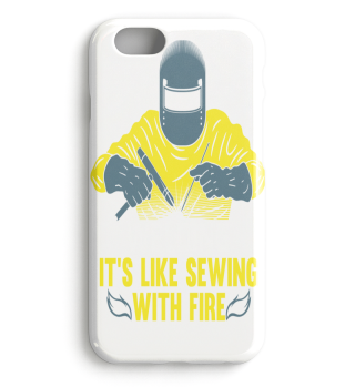 Welding is like sewing with fire / Funny