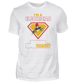Electrician Super Power Volt Electricity
