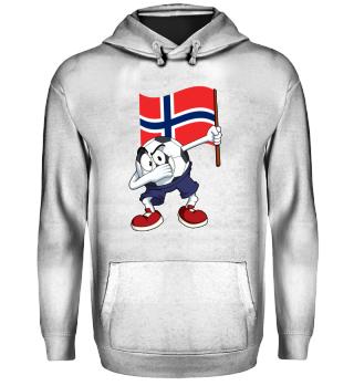 Norway Dabbing Soccer Ball