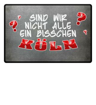 Köln Fußmatte