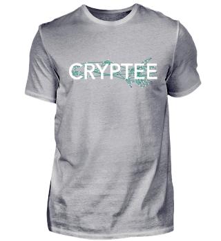 Cryptee Logo Shirt White