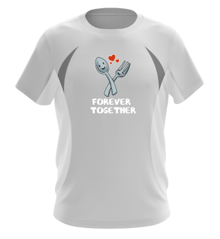 Valentines day spoon fork T Shirt