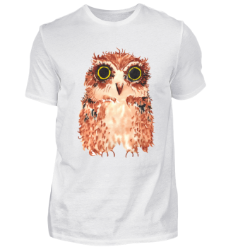 Owl illustrated