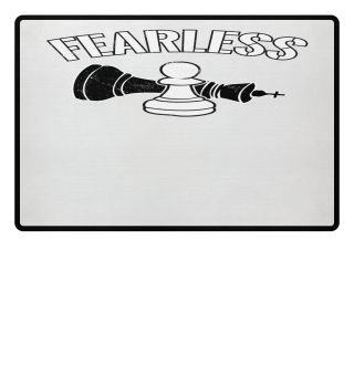 Fearless Pawn Chess Piece