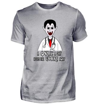 Vampire Dracula Doc Halloween Shirt