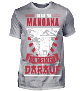 Ich bin ein Mangaka und Stolz - Rot