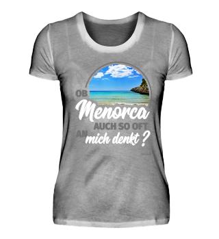 Ob Menorca auch so oft an mich denkt ?