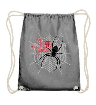 Happy Halloween Spider Web