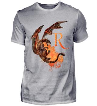 Drachen Buchstabe R