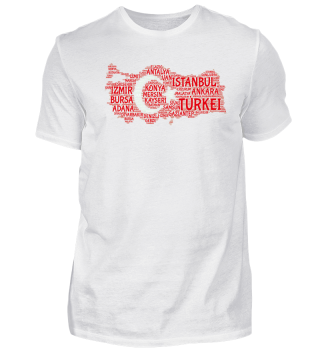 Türkei-Shirt | WordCloud