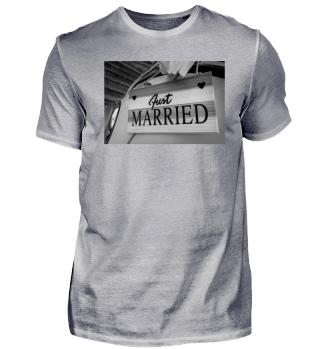Just married - Hochzeit-Design