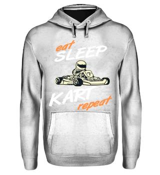 Geschenk Kart eat sleep repeat