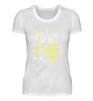 I just want all the cats!