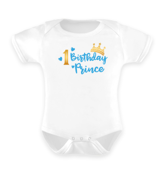 First Baby Birthday Prince