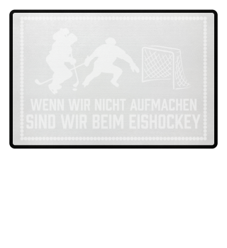 Eishockeyfan: ...sind wir beim Eishockey - Geschenk
