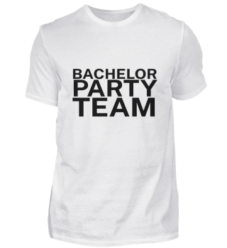 BACHELOR PARTY TEAM