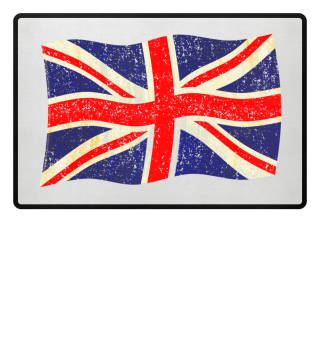 Flag of the United Kingdom grungy 2