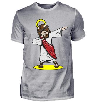 Dabbing Dab Jesus Shirt Christentum