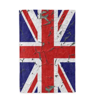 United Kingdom Union Jack Flag Grunge 1a