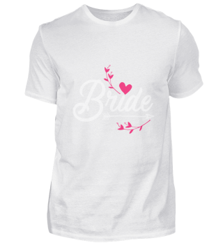 Bride Bachelor Party T-Shirt Booze Gift