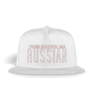 YOUNG, BEAUTIFUL AND RUSSIAN Snapback