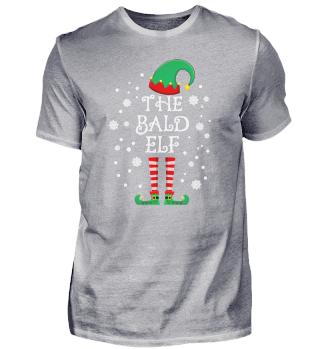 Bald Elf Matching Family Group Christmas