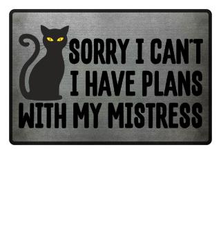 Black CAT - sorry I cant - fussmatte