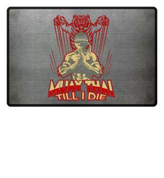 Muay Thai Kampfsport Fußmatte Geschenk