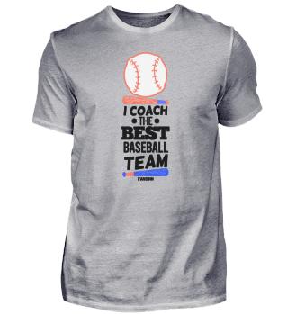 Coach of the best baseball team