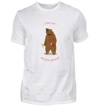 I Love you Beary much witziges shirt