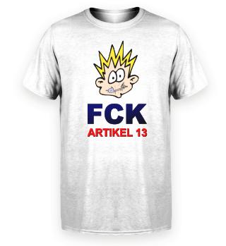 FCK Artikel 13 Comic