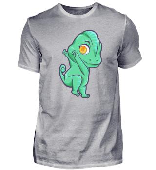 Dabbing Chameleon Iguana Reptile dance