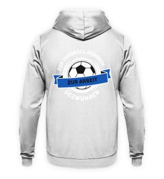Fussball Arbeit (Blau)