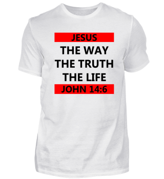 JESUS the way the truth the life