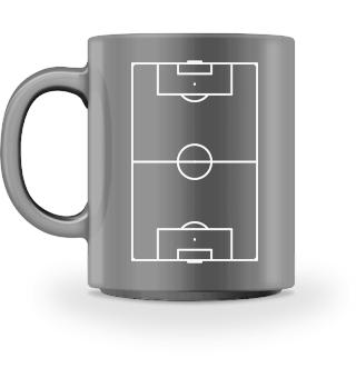 Fußball Fußballer Feld Tasse Geschenk