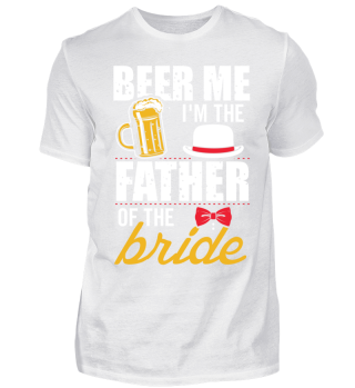 Wedding Father of the Bride Free Beer