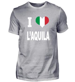 I LOVE - Italy Italien - L´Aquila