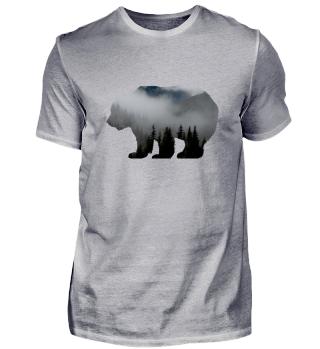 Waldbewohner - Bär Wald Baum Natur Wildnis Tiere