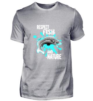 Fischen Angeln Respekt Geschenk