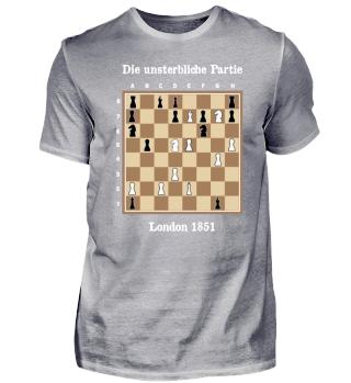 Die unsterbliche Partie Schach Chess