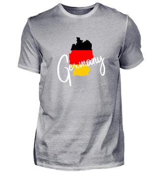 Germany Deutschland Landkarte - Geschenk