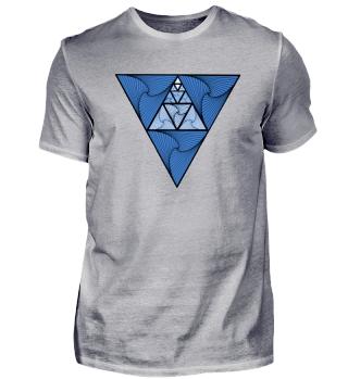 Triangel-Blau