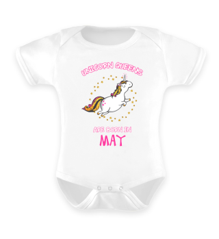 Unicorn Queens are Born in May Shirt