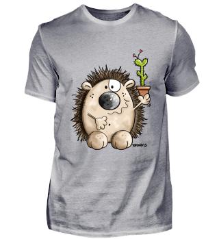 Igel Mit Kaktus - Love- Geschenk