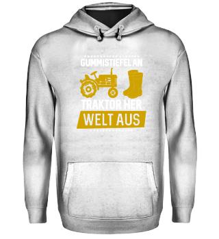 Landwirtschaft - Gummistiefel Traktor