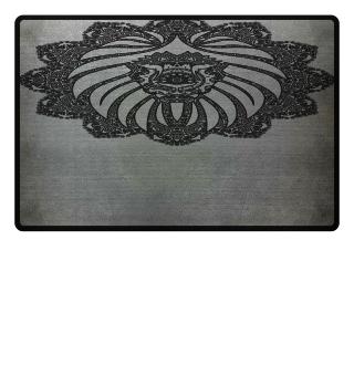 ♥ Vintage Ornaments Mandala I Lion I