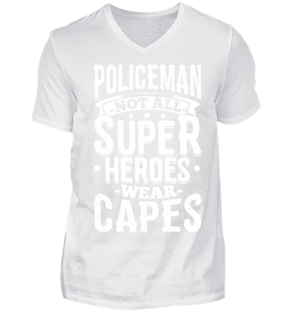Police Policeman Shirt Not All
