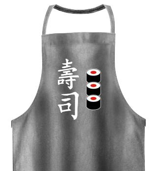 Sushi Grillschürze Geschenk