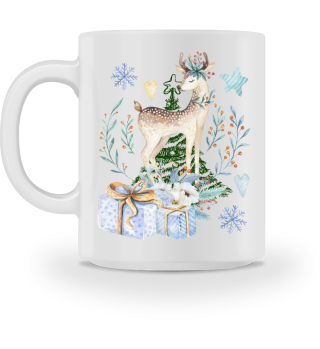 ♥ MERRY CHRISTMAS · DEER #8IT