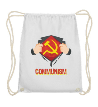 Superhero Hammer Sickle Red USSR Gift